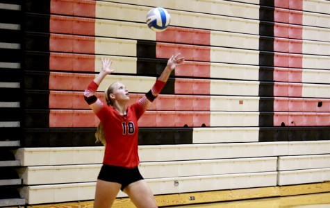 Volleyball falls to Newton and Derby