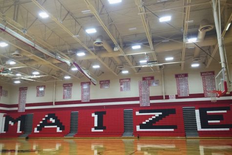 New lights installed in main gym