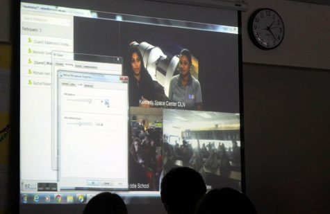Hammett's science class links up with NASA