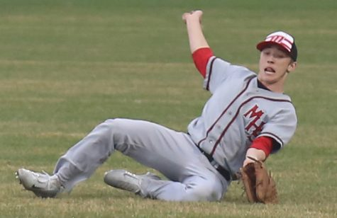 Baseball defeats Blue Valley West and Shawnee Mission South