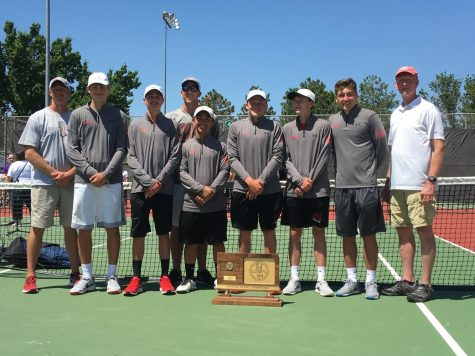 Boys tennis takes their first state title