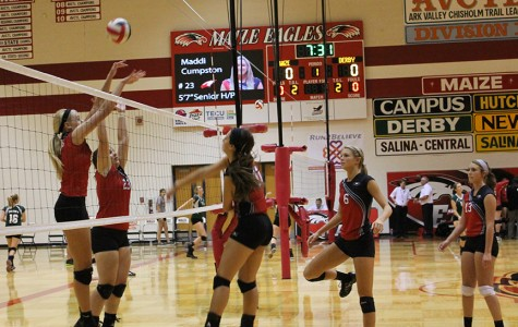 Volleyball gets two wins Tuesday night