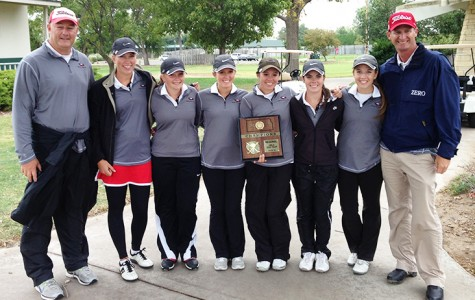 Girls golf take first at regionals Monday