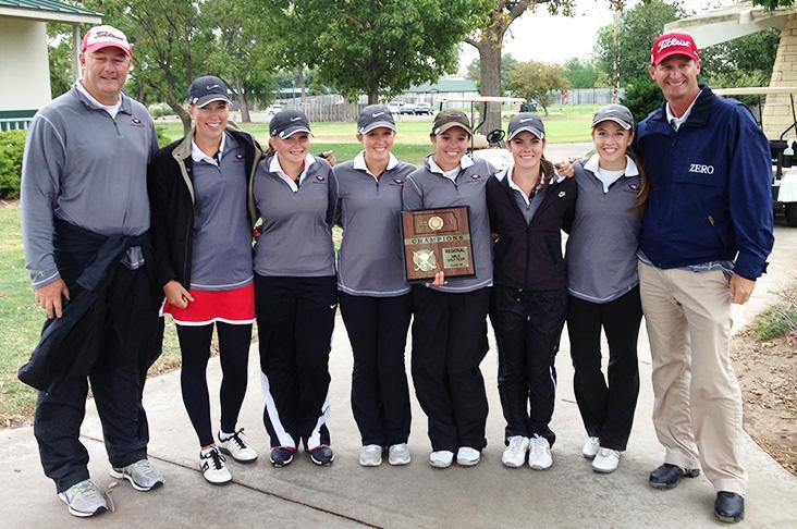 Girls golf take first at regionals Monday