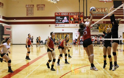 Volleyball girls win at sub-state