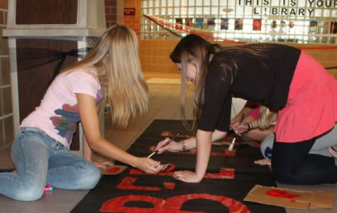 Students participate in homecoming week