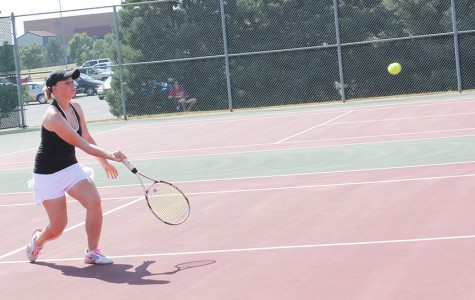 Girls tennis finishes ninth at state
