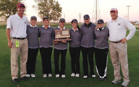 Girls golf end with a second place finish at state