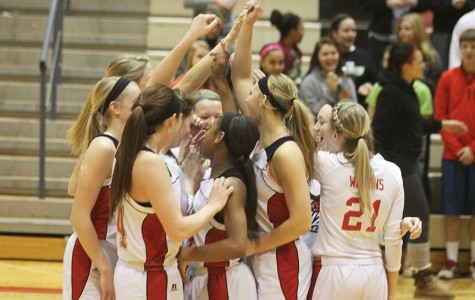 Girls basketball win big in first sub-state game