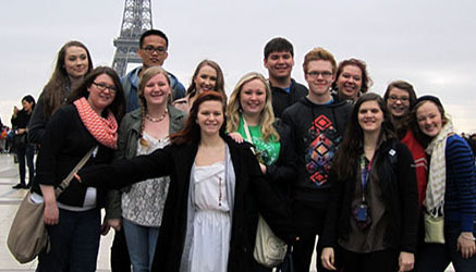 Students experience French lifestyle