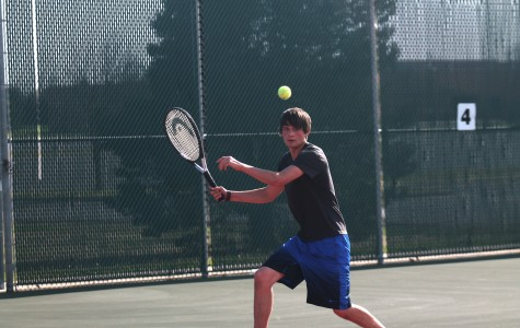 Boys tennis placed fourth at Maize Invitational