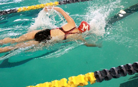 Girls swim team placed seventh at Campus Invitational