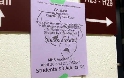 Drama department puts on A Night of Comedy
