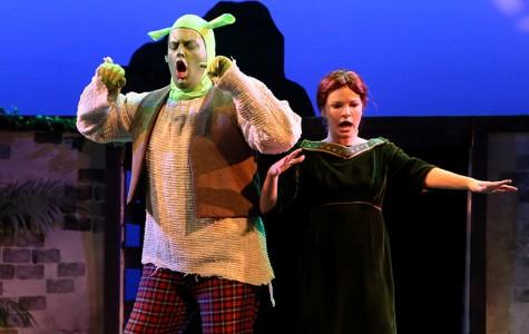 Students perform in 'Shrek'