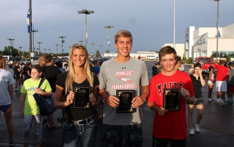 Maize's athletes named Mel Hambelton's pre-season athletes of the year