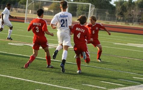 Boys soccer wins 3-1 against Andover