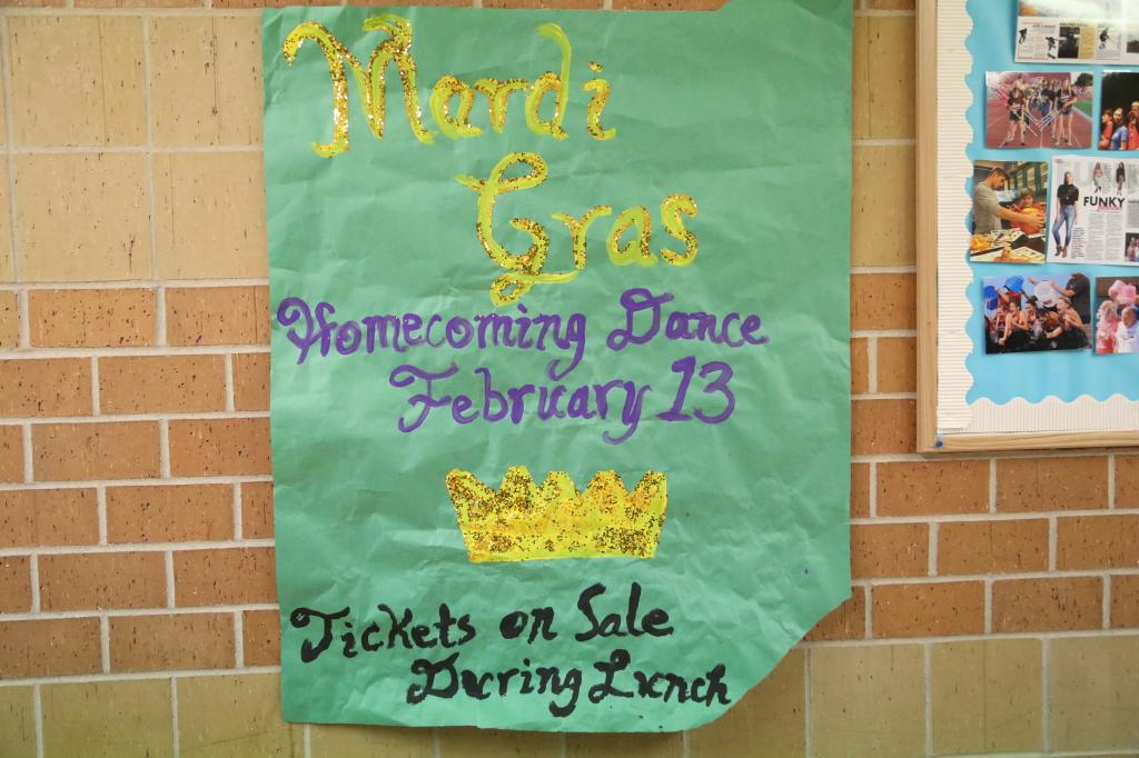 The homecoming dance will be after Friday's game.