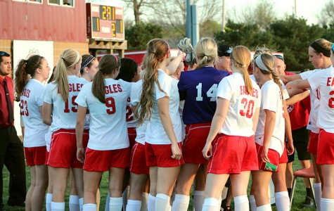 Girls soccer wins against Bishop Caroll in double overtime