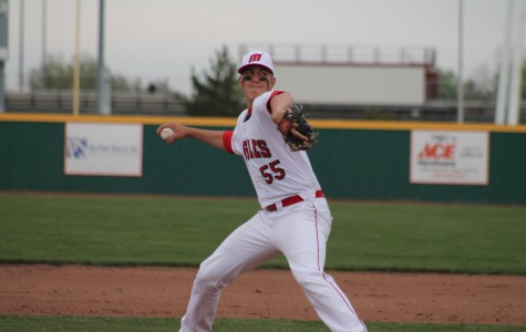 Eagles split doubleheader with Derby