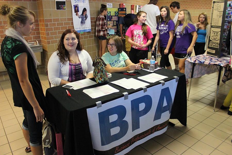 BPA is recruiting new members during Club Fair