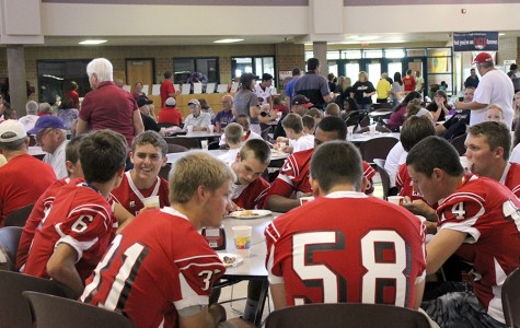 Football backers host annual pancake feed