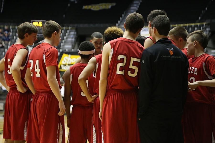 Basketball teams sweep Valley Center; wrestling falls at Dodge