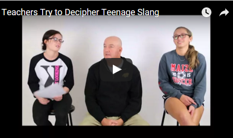 Teachers try to decipher teen slang
