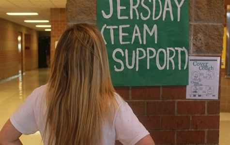 Students get ready for upcoming spirit week