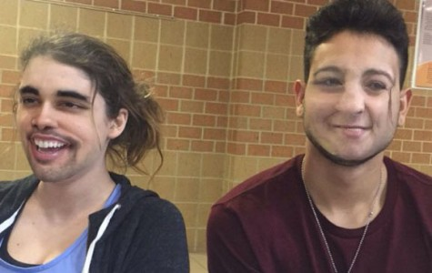 Students use face swap filter on Snapchat