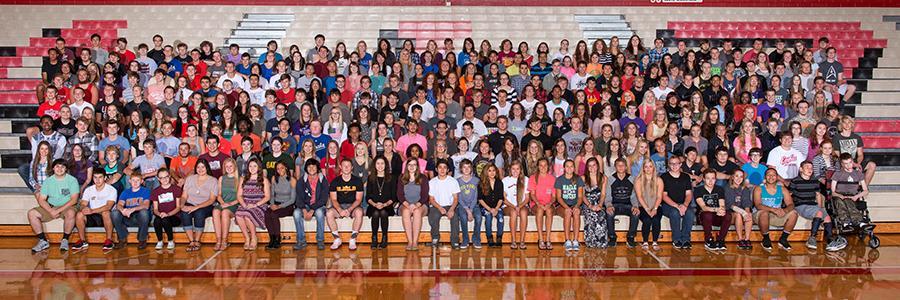 The senior class of 2016.
