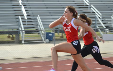 Maize Track Team Takes Second at Heights