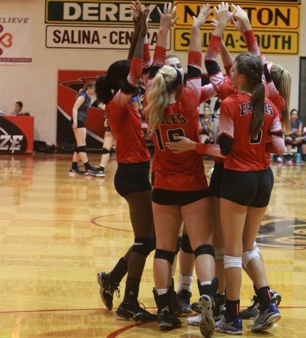 Volleyball loses against Derby and Newton at their triangular at Newton. They play next Tuesday at Salina Central.