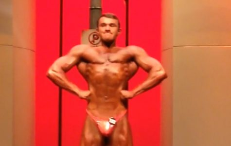 Maize grad places at bodybuilding competition