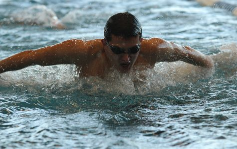 Boys swimming takes second at state