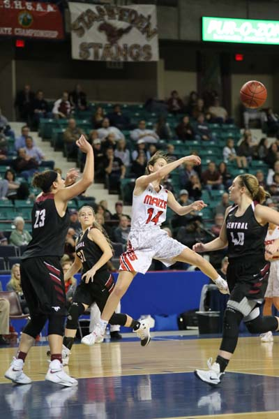 After a dominating victory in the state semi-finals, the Eagles girls basketball team will compete in the state championship game Saturday in Topeka.