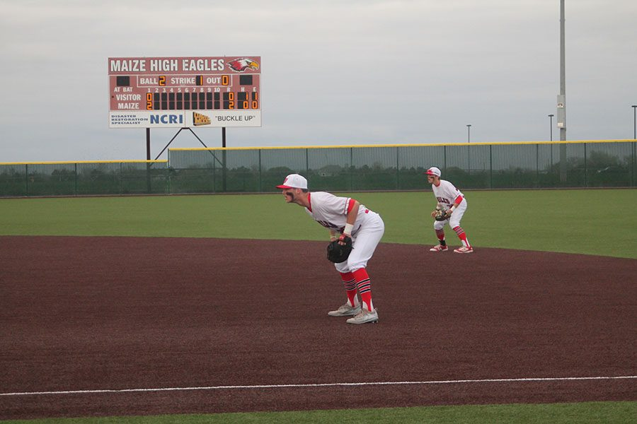 Baseball defeats Salina Central in a doubleheader