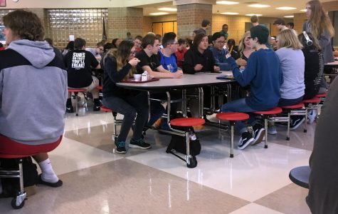 Students and staff share their thoughts on the new lunch tables