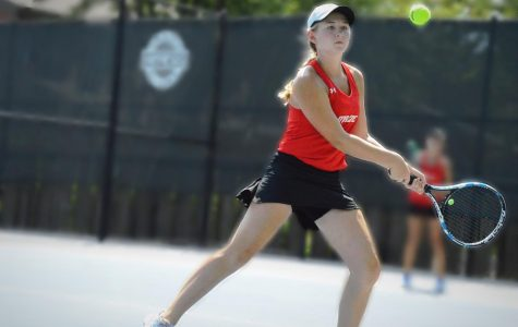 Girls tennis takes fifth at Wichita Collegiate tournament