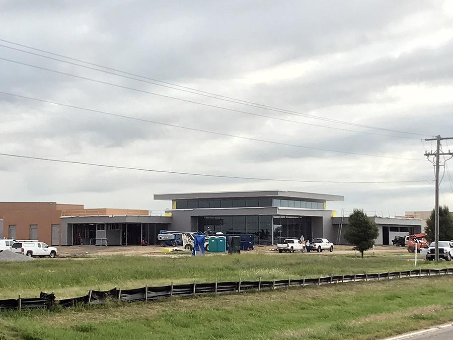 Maize CTE building to go up as an add on to Maize High School.
