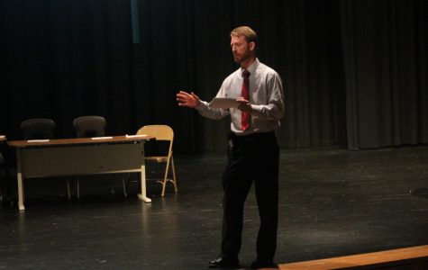 Former English teacher starts his first year as assistant principal