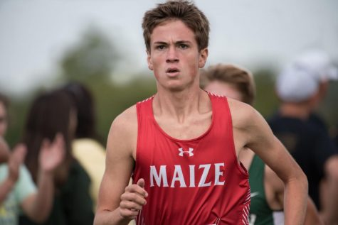 Maize cross country places first at League