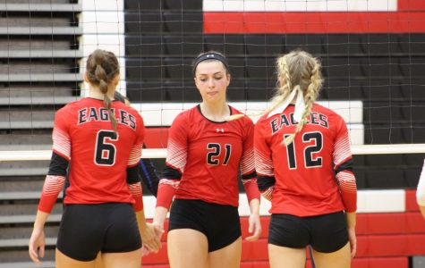 Tuesday was senior night for the volleyball team. Maize will travel to Valley Center Saturday to compete in Sub-State.