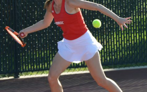 Maize tennis finishes season at State