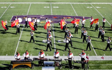 Marching band earns 1 rating at 2017 Central States Marching Festival