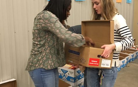 KAY club puts on annual Deck the Halls food drive