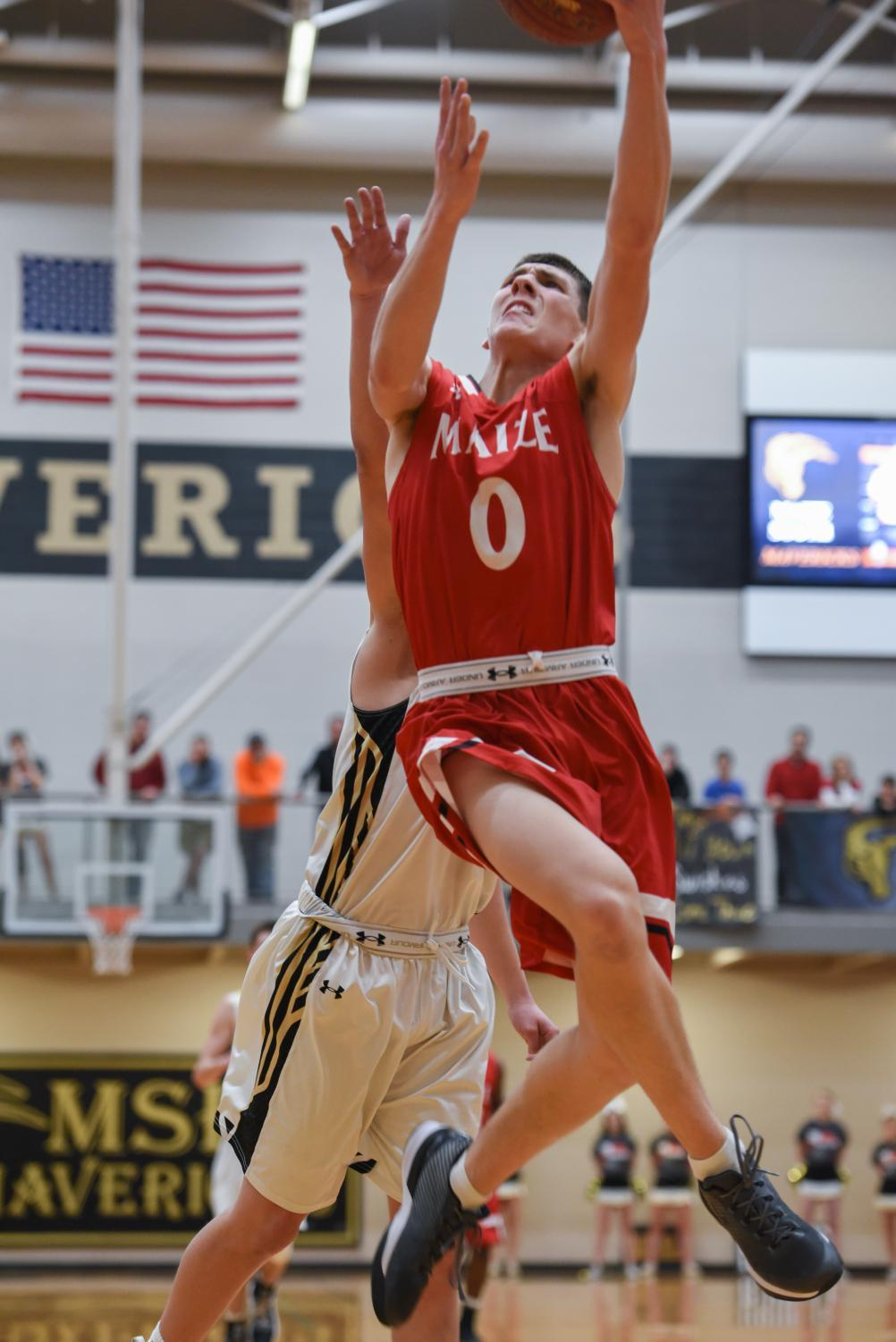 Caleb Grill announced Wednesday that he will sign to play basketball at South Dakota State.