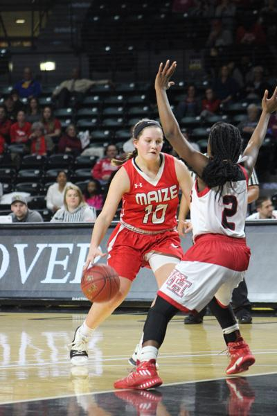 The girls basketball team fell to Heights 51-49 Saturday at Koch Arena. The Eagles rallied late but came up short. They return to action Tuesday to play Eisenhower at home.