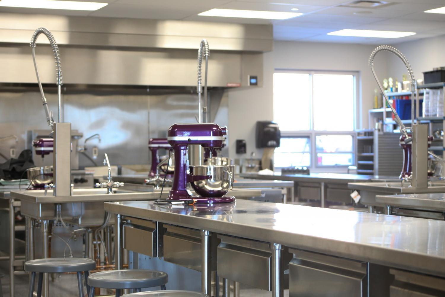 The+new+culinary+classes+have+upgrades+from+the+current+culinary+rooms.+With+almost+all+new+tools+and+supplies%2C+this+room+is+an+upgrade+for+culinary+students.