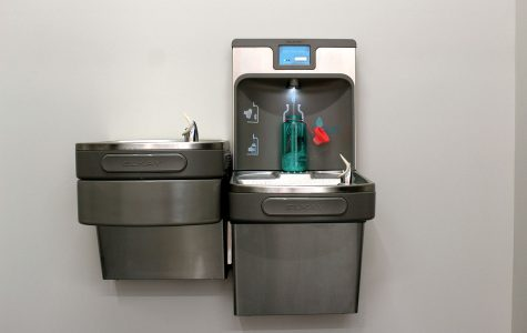 Botts confirms water bottle refilling station installation