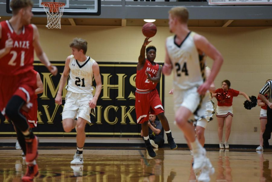 The Eagles fell to Derby 72-63. The boys will be back in action at home on Tuesday against Campus.